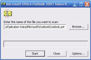Outlook Inbox Repair Tool scanpst.exe