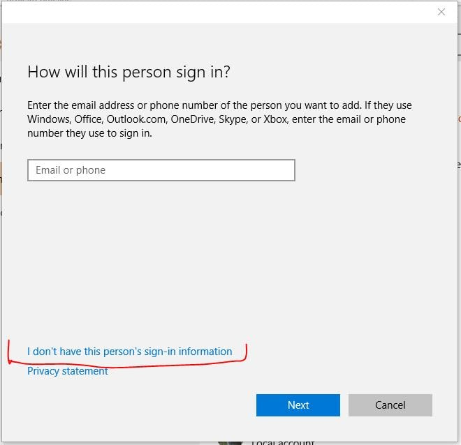how to get into computer without password win 10