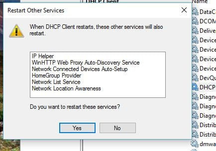 restart-dhcp-client-also-these-servicse